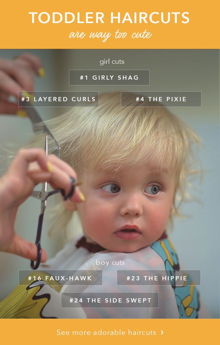 The 25 Cutest Toddler Haircuts Care