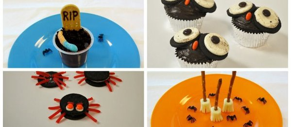 4 easy halloween recipes for class parties for Easy fun halloween treats for school