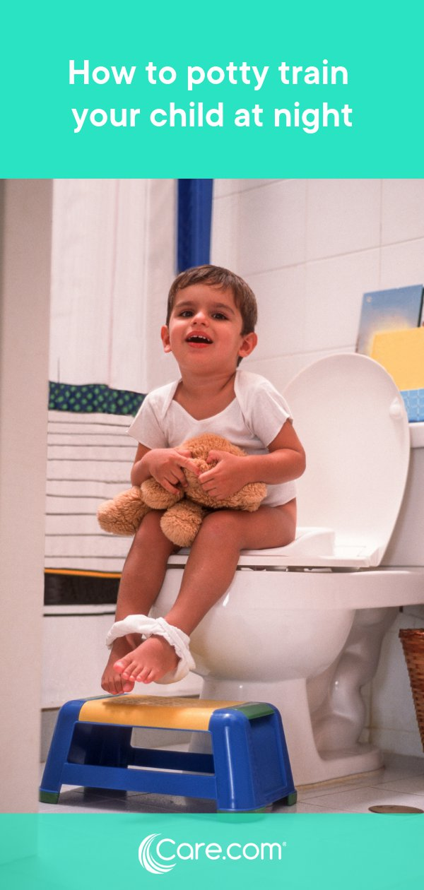 5 tips for nighttime potty training your child - Care com