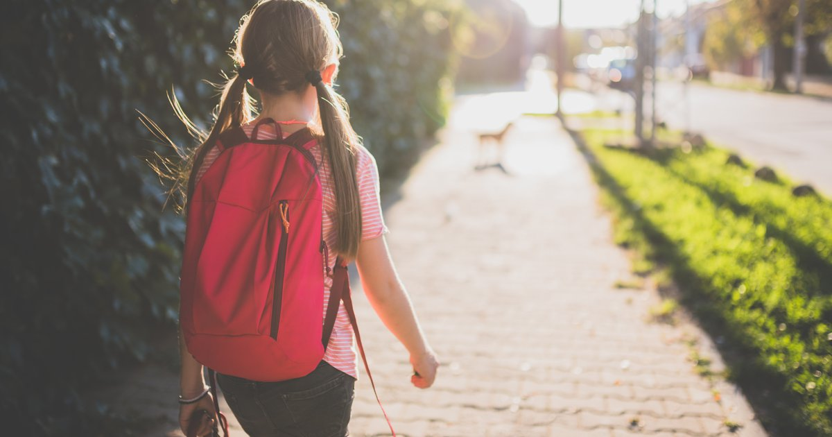 When Can Kids Walk To And From School Alone Care Com