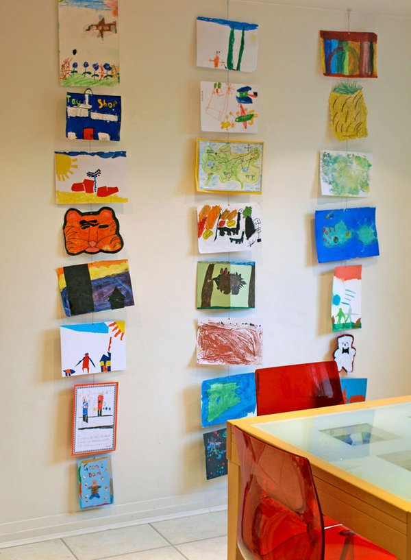 Hanging Wall Art Ideas 10 diy wall art ideas for your child's masterpieces - care