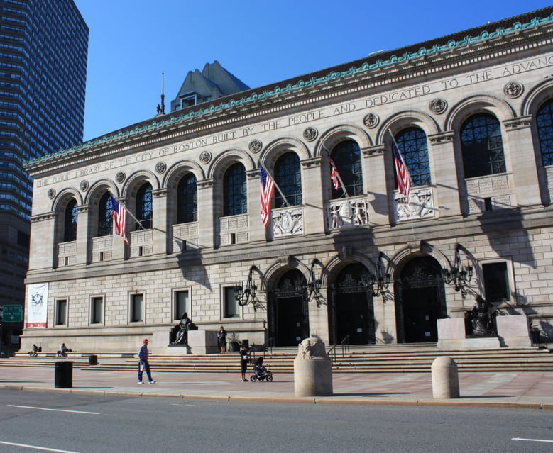 Best Free Things to Do in Boston When Your Kids Say I'm Bored: The Boston Public Library - Central
