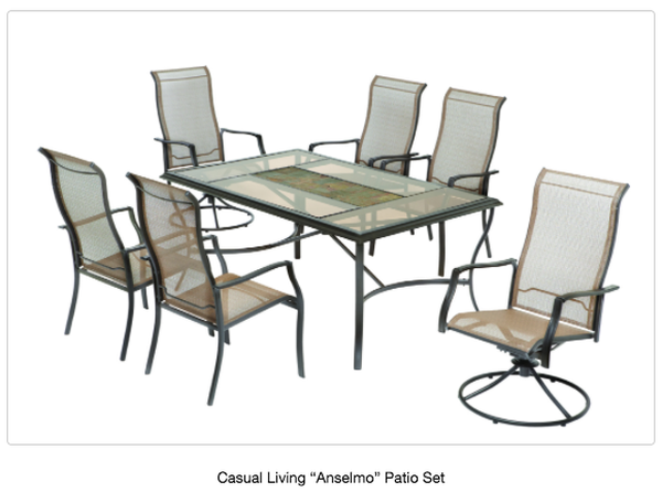 Casual Living Worldwide Patio Furniture Recall