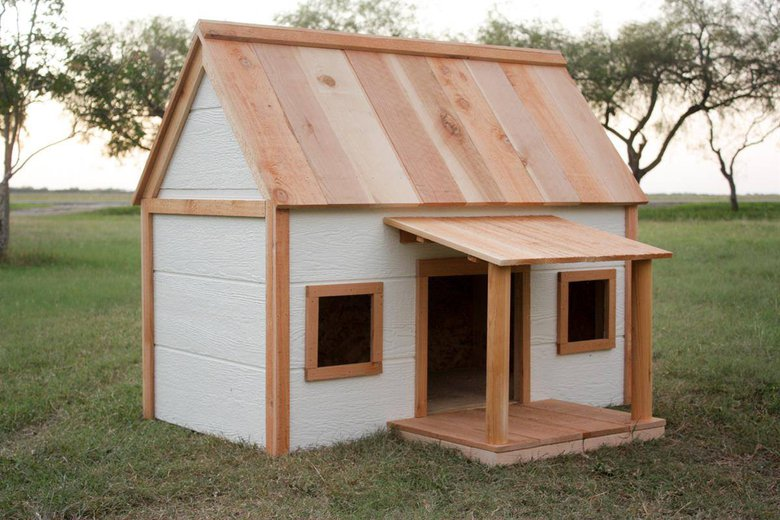 11 Dog House With Porch By Build Something