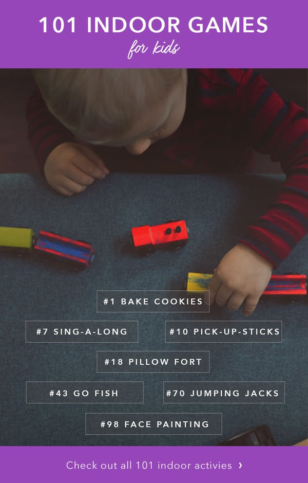 101 Indoor Games And Activities For Kids