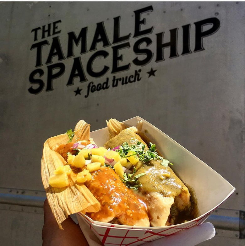 10 Chicago Food Trucks to Visit With the Kids: Tamale Spaceship