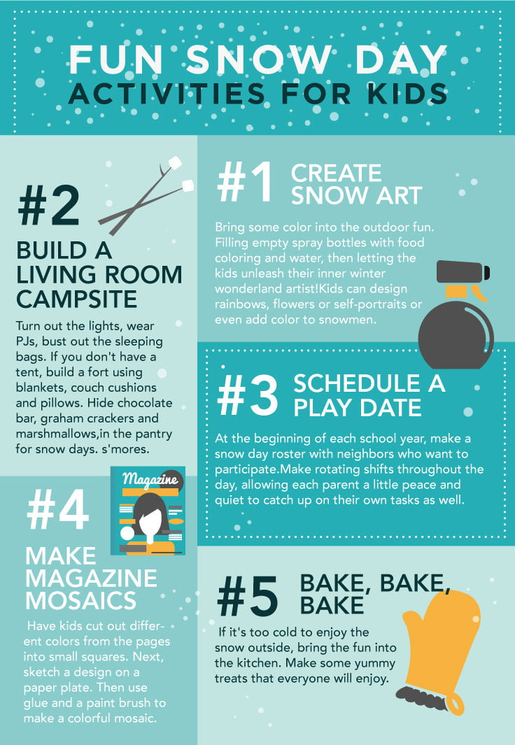 Instead Be Prepared This Winter With These Fun Creative Simple Projects That Will Keep The Kids Busy