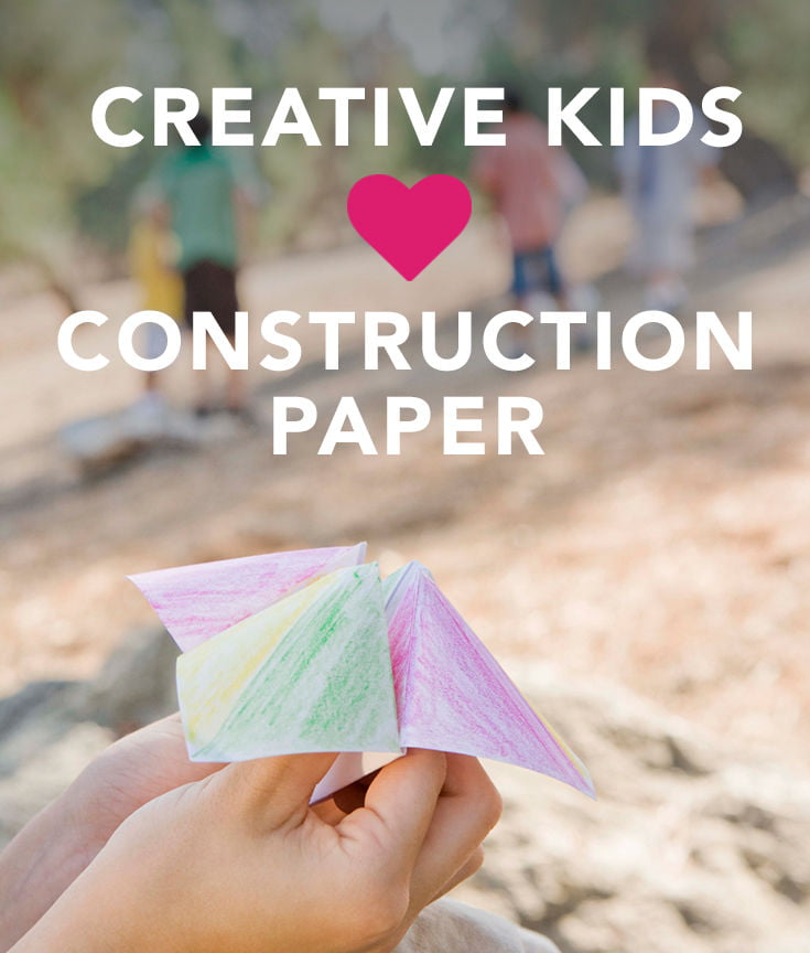17 Easy Construction Paper Crafts That Any Kid Can Do Care