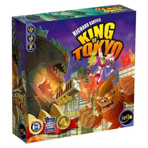 Each Player Is A Mutant Monster Trying To Take Over The City And Become King Of Tokyo Vandenbroucke Says Board Game