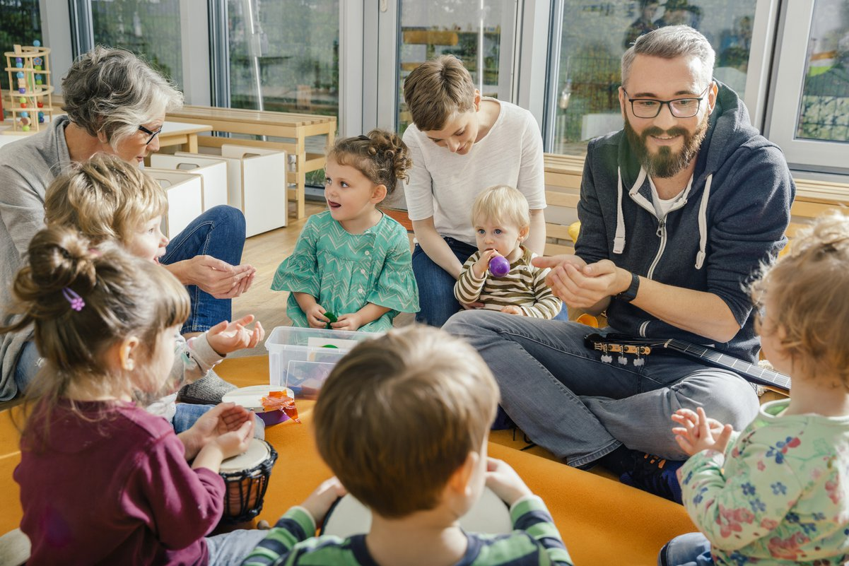 In-Home Day Care Vs  A Day Care Center: What's The