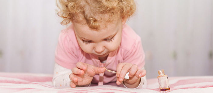 Is Baby Nail Polish Safe? - Care.com