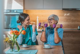 What to include on a daily schedule for adult and senior caregivers
