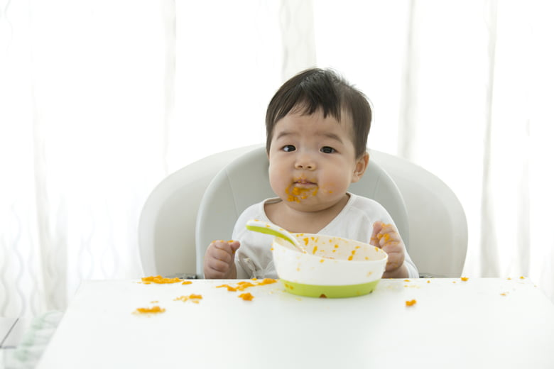 The 3 stages of baby food: What foods and when - Care.com
