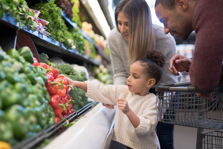 The 6 food groups every kid should know