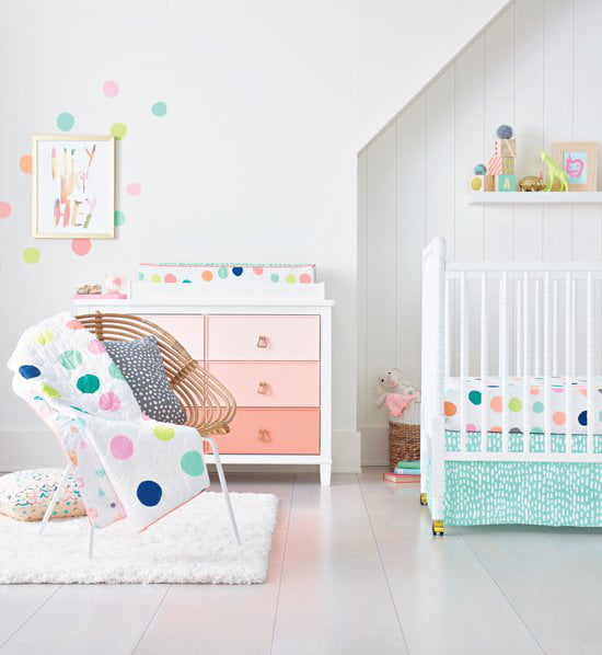 Beautiful Baby Rooms: 12 Beautiful Bright And Cheery Nursery Ideas