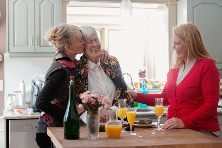 Caring for a senior loved one: How to encourage family participation