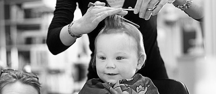 Your baby might have been born bald, but he's certainly got a full head of hair now. Maybe your child's cowlick is developing a life of its own, ...