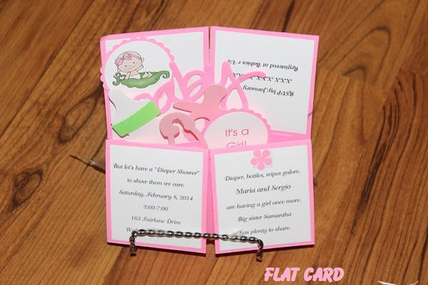 12 unique baby shower invitations - care community,