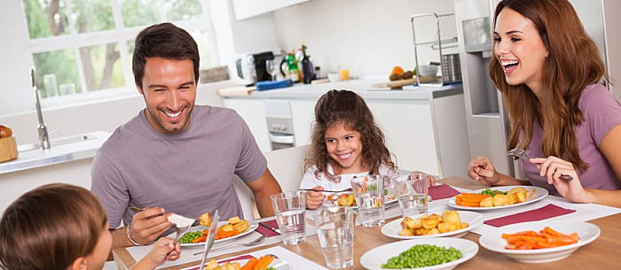 Image result for famILY DINNERS