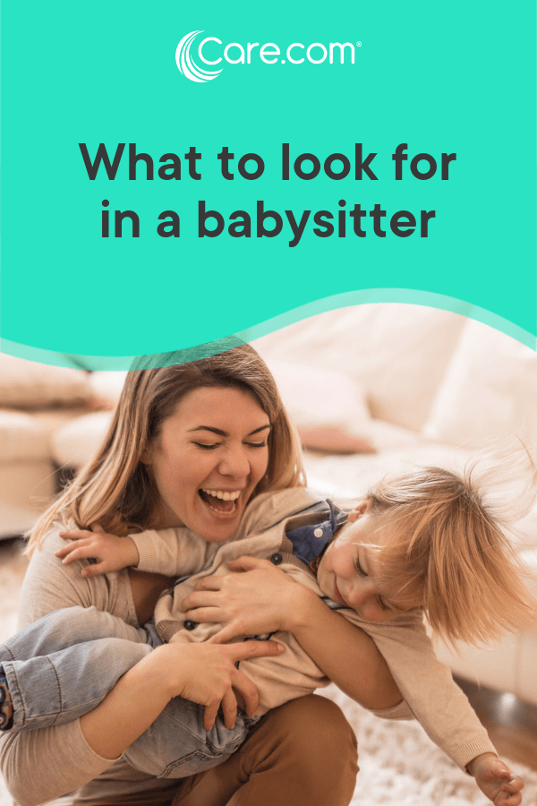 skills a babysitter should have
