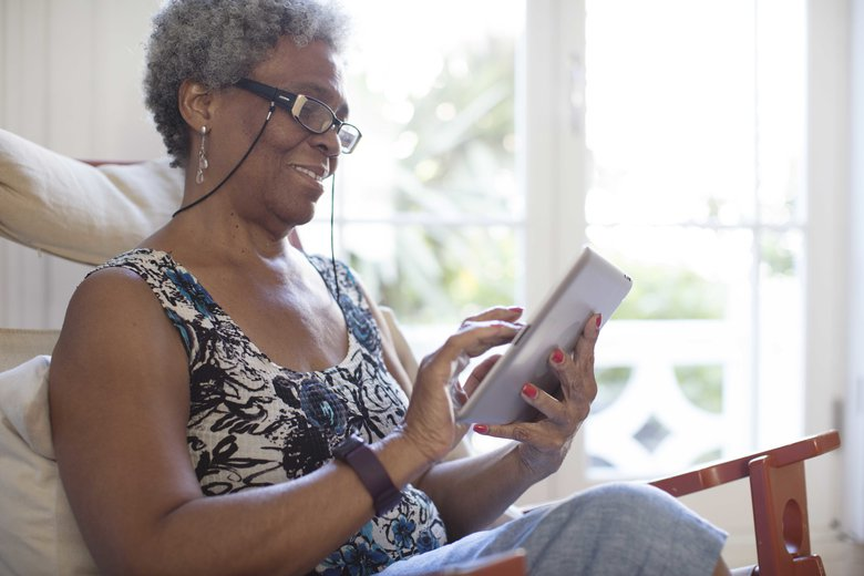 Screen time could be the drug-free mood-booster every person with dementia needs