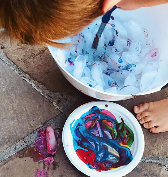 Creative Ways To Paint And Create Fun Art For Kids Process Art Ideas For Toddlers And Preschoolers Craft Activities For Kids Art For Kids Creative Kids