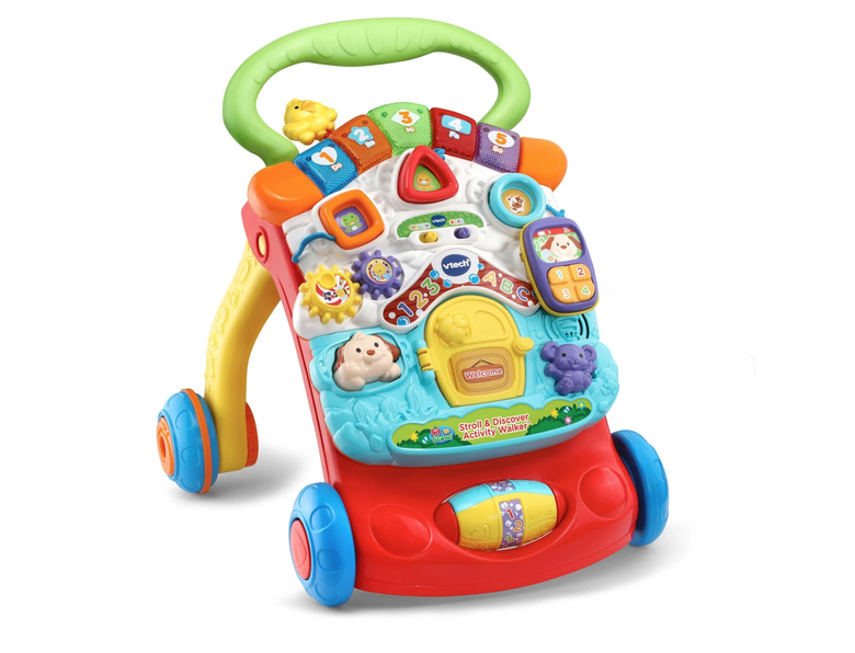 Baby Walkers For Girls Boys Activity Center Pre Walking Toys Chair First Steps