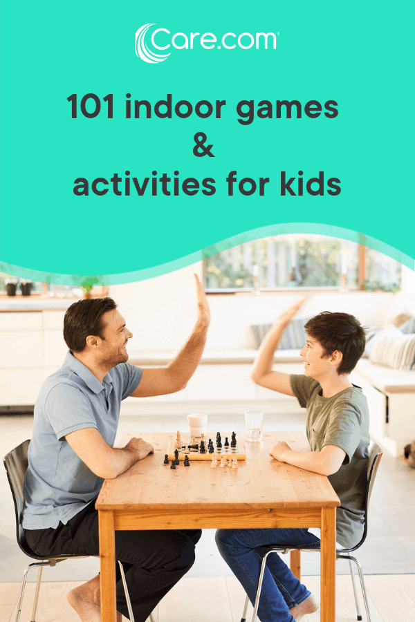 101 Indoor Games And Activities For Kids Care Com