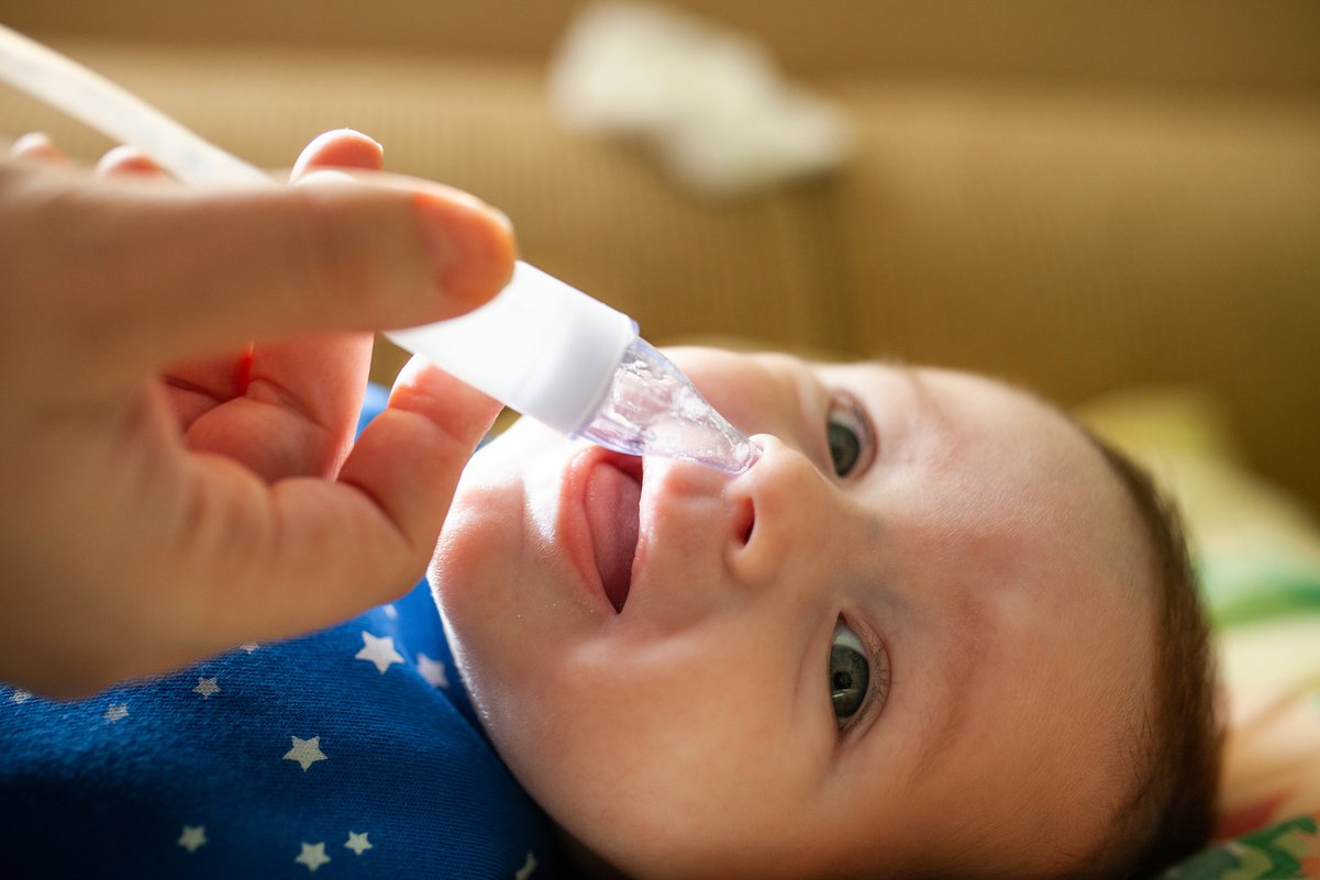 Baby With A Runny Nose 6 Remedies That Really Work Care Com