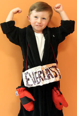 As a part of the Care.com Halloween costume series learn how to turn your little one into a heavyweight boxer in just three simple steps.  sc 1 st  Care.com & How To Make A Boxer Costume - Care.com
