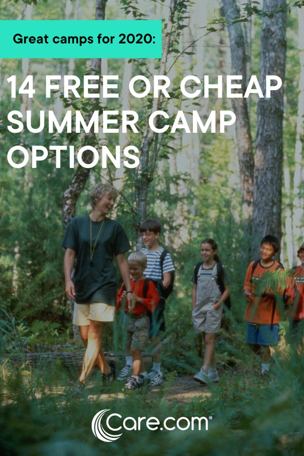 free summer camps for low income families near me