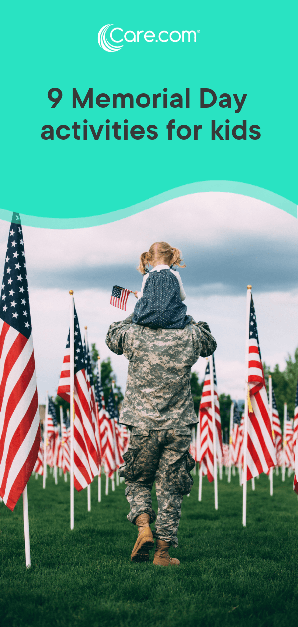 9 Memorial Day Activities For Kids Care Com