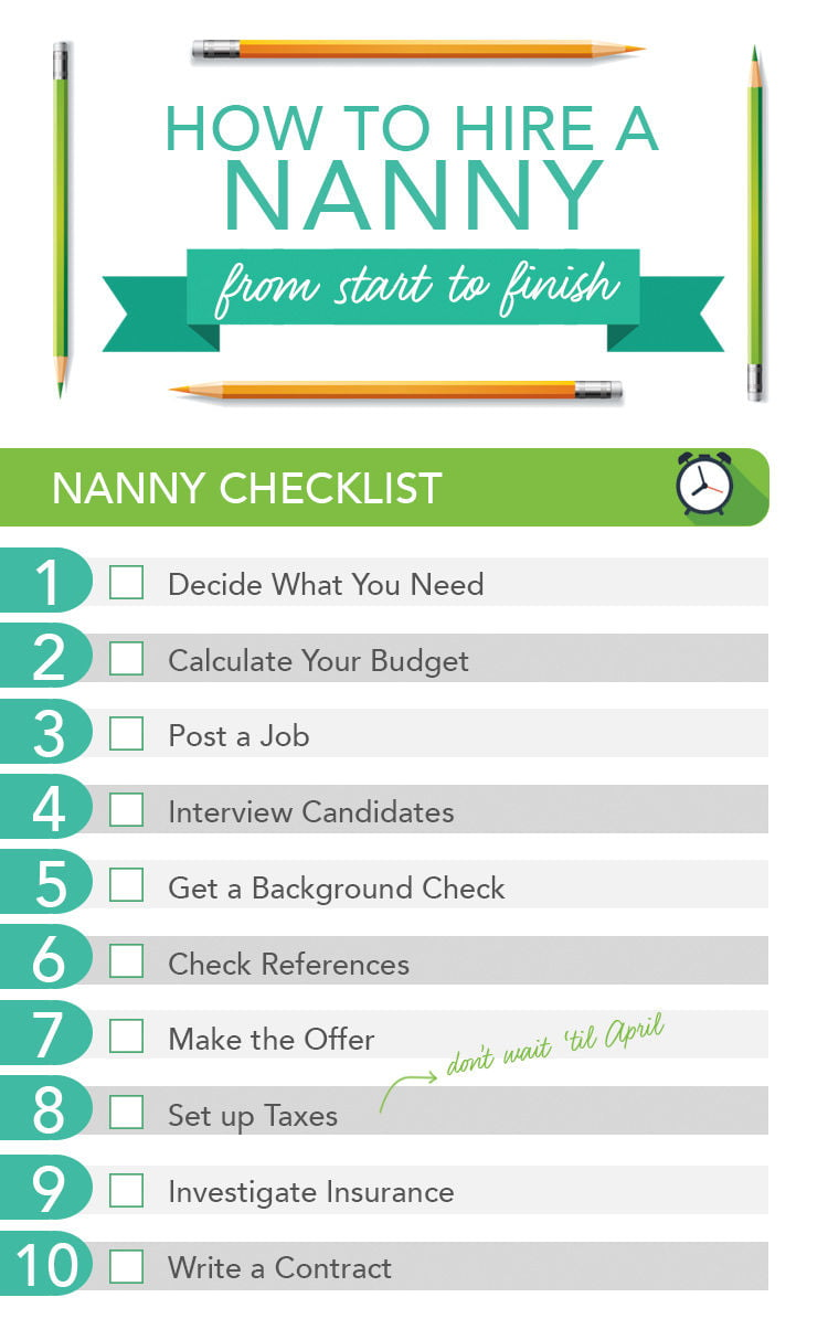 here u0026 39 s how to hire a nanny from start to finish