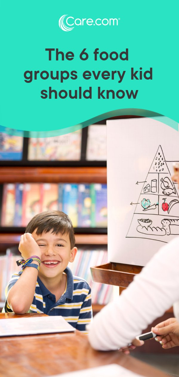 The 6 Food Groups Every Kid Should Know - Care com