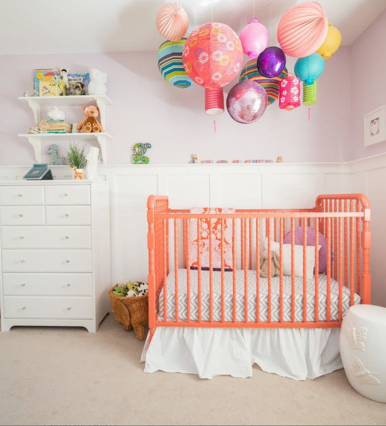 attractive and bright red nursery ideas | 12 Beautiful Bright And Cheery Nursery Ideas - Care.com