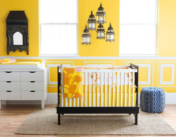 attractive and bright red nursery ideas | 12 Beautiful Bright and Cheery Nursery Ideas - Care.com ...