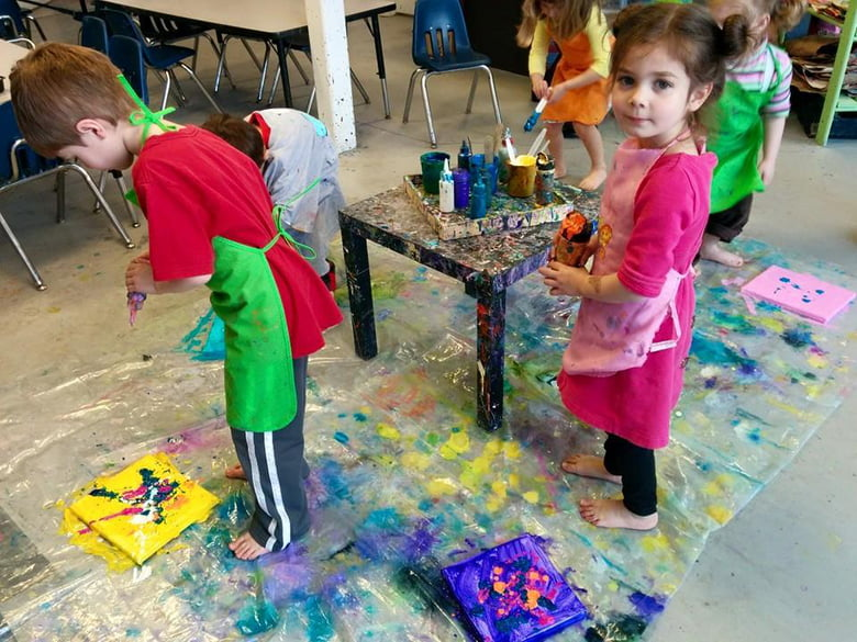 The Paintbrush A Hands On Art Studio For Kids Chicago Il