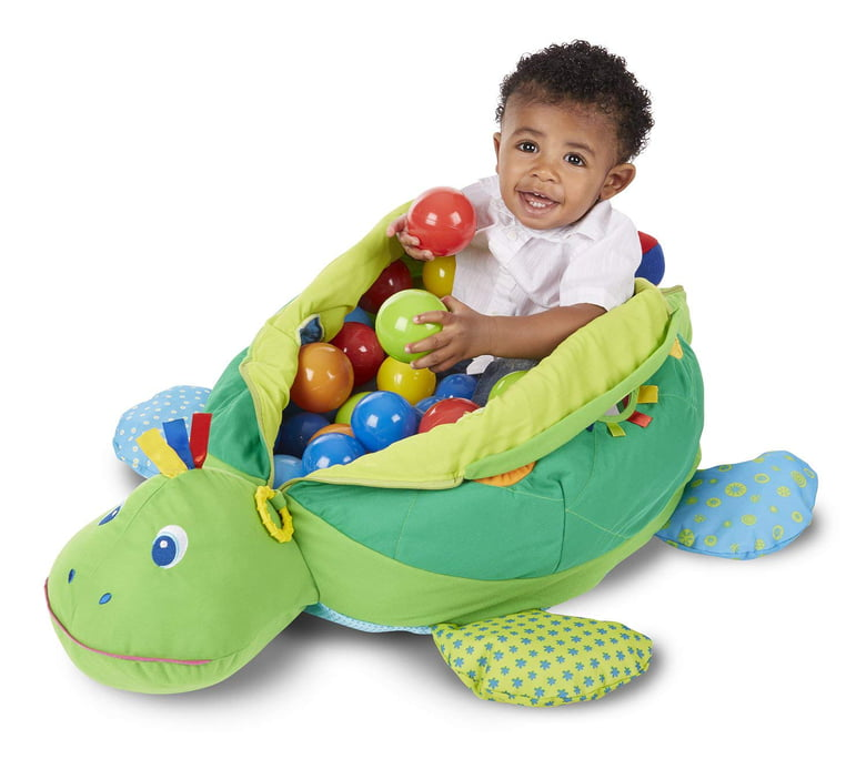 1 Melissa Doug Kids Turtle Ball Pit Favorite Overall Toy