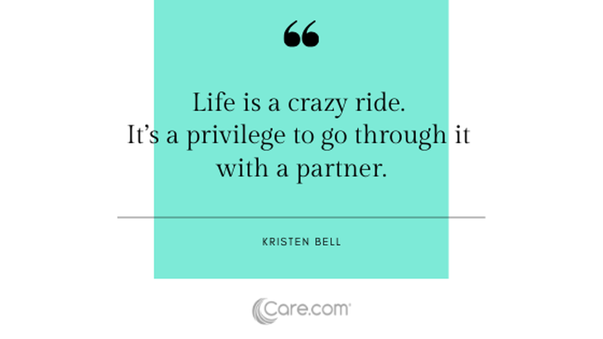24 quotes about marriage and raising kids together - Care.com