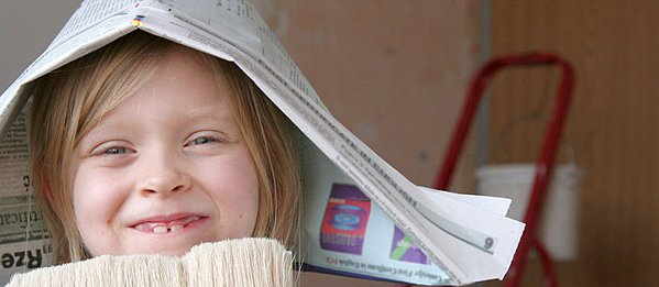 how to make a paper sailor hat out of newspaper