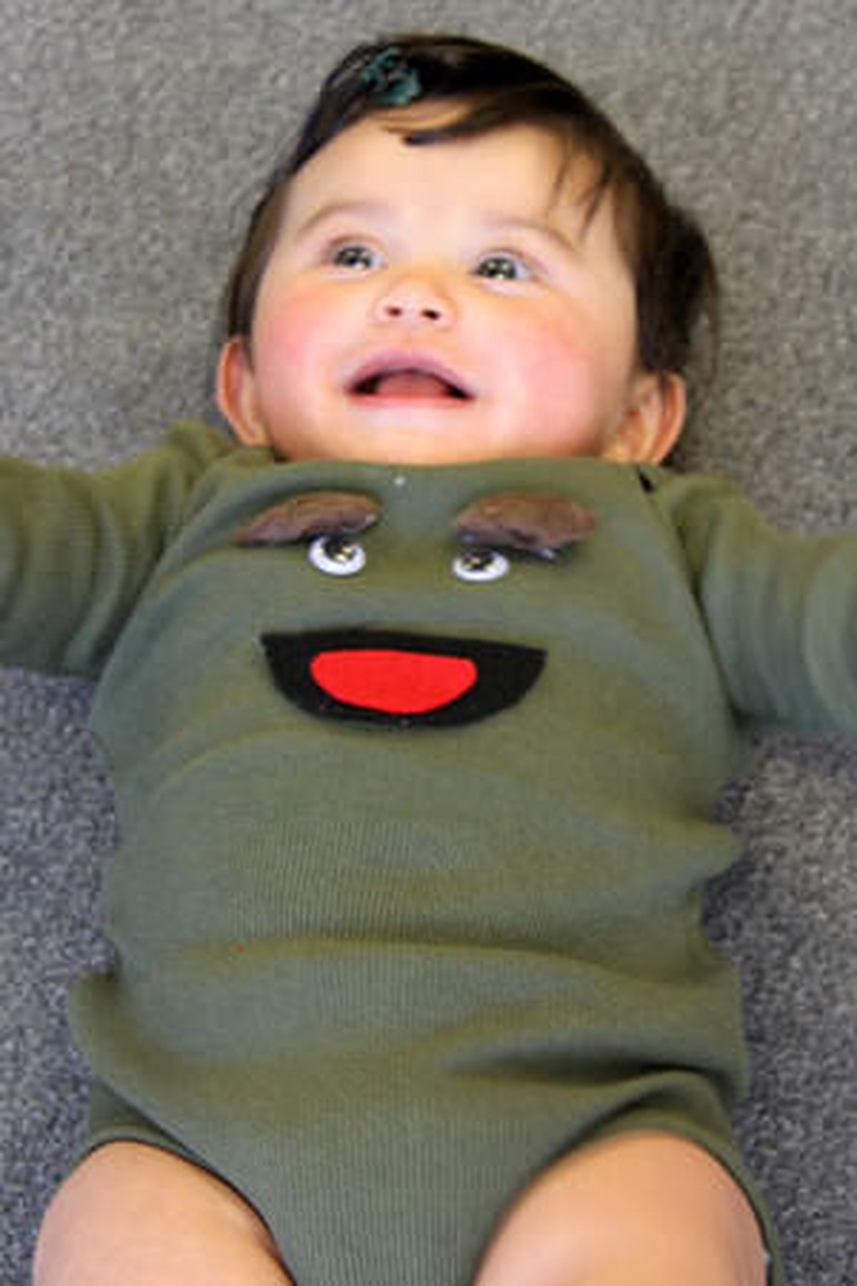 How To Make An Infant Oscar The Grouch Costume Care Com