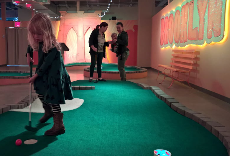 Kids Birthday Parties: Shipwrecked Miniature Golf