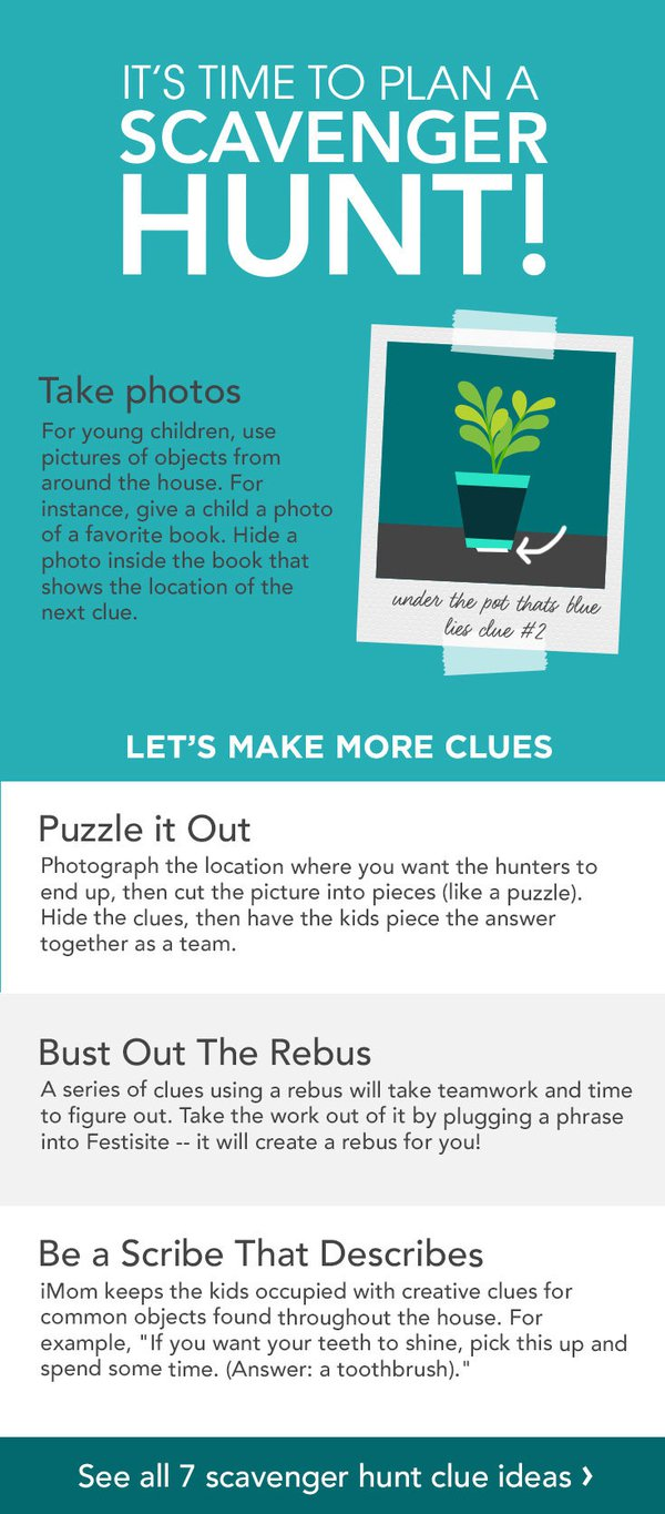 creative scavenger hunt clues for kids com community wendy legendre is so good at treasure and scavenger hunts that she has a website called scavenger hunt fun you can get kids working