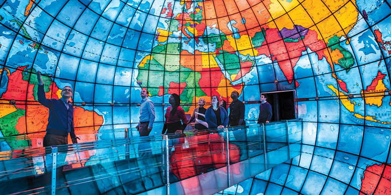 Best Free Things to Do in Boston When Your Kids Say I'm Bored: The Mary Baker Eddy Library and The Mapparium