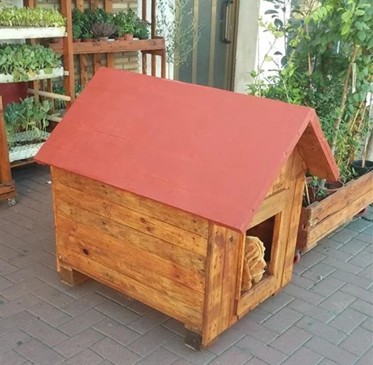 20 of the best free diy dog house plans on the internet for Simple house design made of wood