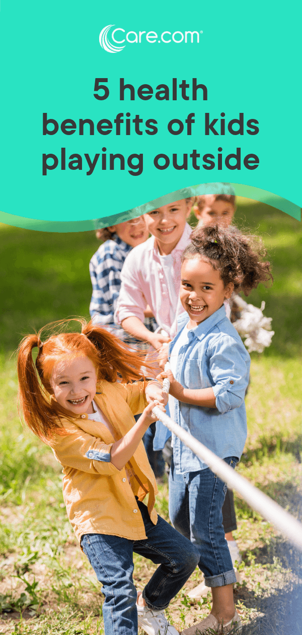 5 health benefits of kids playing outside