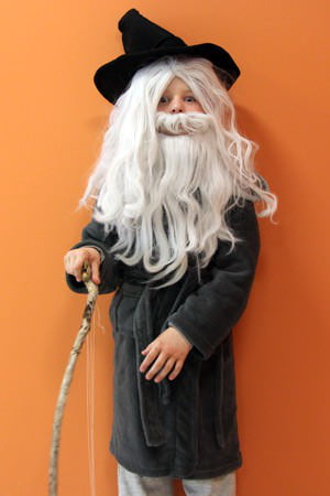 Is your little one a lord of the rings fan heres how to make a as part of the care halloween costume series turn your child into the great grey wizard from lord of the rings solutioingenieria Gallery