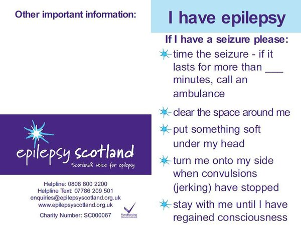 photograph relating to Printable First Aid Guides titled A Advisor For Epilepsy Emergencies And Seizure Very first Support
