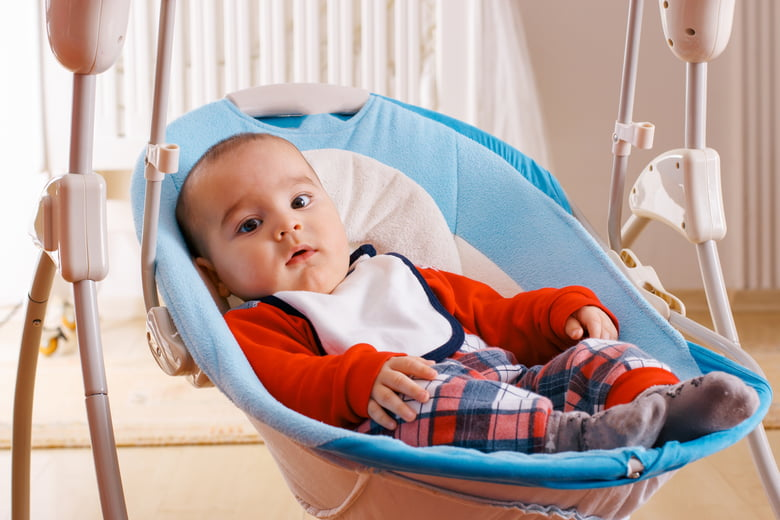 Using a baby swing: Your age, weight and sleep questions answered