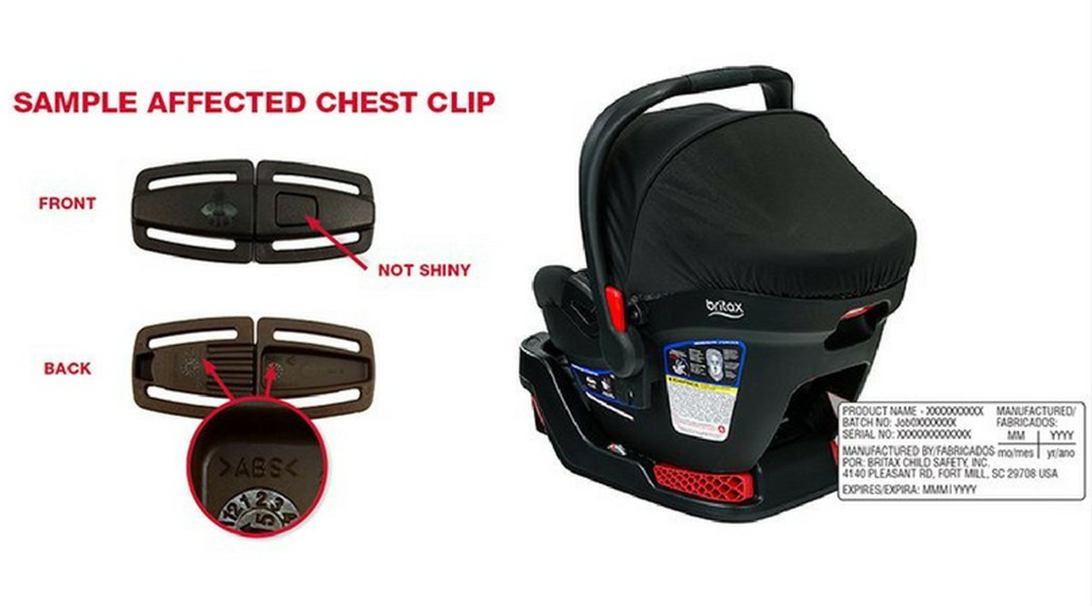 Recall Alert Over 200 000 Britax Car Seats Recalled For Possible